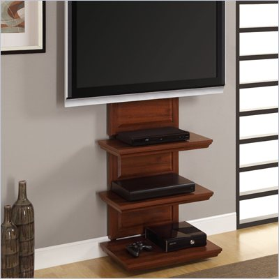 Altra Furniture Traditional Altra Mount TV Stand in Cherry Finish
