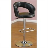 Poundex Adjustable Swivel Barstool