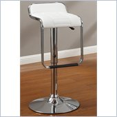 Poundex 33 Barstool in White