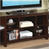 Poundex TV Stand, Dark Espresso