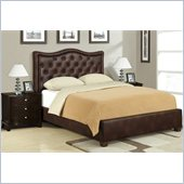 Poundex 3 Piece Queen Size Bedroom Set in Espresso