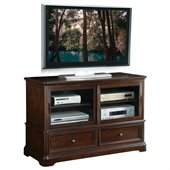 INSPIRED by Bassett Bennington TV Console In Java Finish