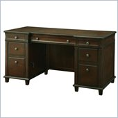 INSPIRED by Bassett Yesler Executive Desk In Cider Finish