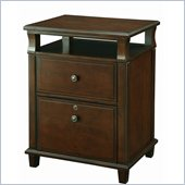 INSPIRED by Bassett Yesler File Cabinet In Cider Finish