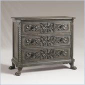Henry Link Lewiston Single 3 Drawer Dresser in Silver Sage