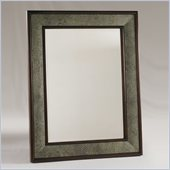 Henry Link Cameroon Mirror in French Walnut and Ostrich Finish