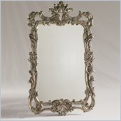 Henry Link Byzantine Mirror in Venetian Silver Finish