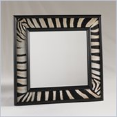 Henry Link Nairobi Mirror with Black Lacquer Frame