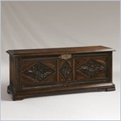 Henry Link Mombasa Trunk in Dark Umber Finish