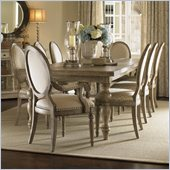 Henry Link Savannah Dining Table in Driftwood Finish
