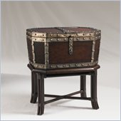 Henry Link Taster's Cellaret Accent Table in Iron Clad Sienna Finish