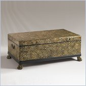 Henry Link Panthera Trunk Cocktail Table in Leopard and Leather