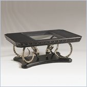 Henry Link Ramsgate Cocktail Table in Weathered Obsidian