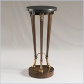 Henry Link Pedistallio Accent Table in Regent