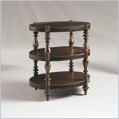 Henry Link Sutherland Oval Accent Table in Plantation Finish