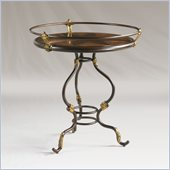 Henry Link Pavillion Accent Table in Chestnut Finish