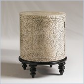 Henry Link Marshall Accent Table in Moonstone on Ebony Finish