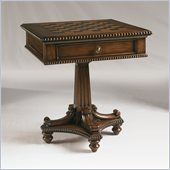 Henry Link Checkmate Accent Table in Empire Finish
