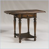 Henry Link Trotter Drop-Leaf Accent Table in Arlington Finish