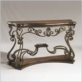 Henry Link Bohemian Console in Artisans Mahogany Finish