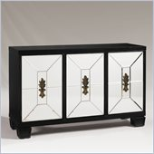 Henry Link Midnight Reflections Hall Chest in Satin Black