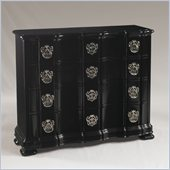 Henry Link Park Avenue 4 Drawer Hall Chest in Black Onyx