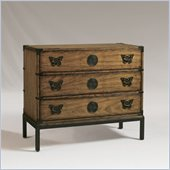 Henry Link Papillon 3 Drawer Hall Chest in Golden Monarch