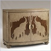 Henry Link Sumatra Hall Chest in Crackled Linen Finish