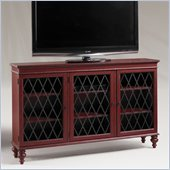 Henry Link Moulin Rouge Media/Bookcase Cabinet in Antique Scarlet