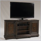 Henry Link Chancellery Media Cabinet in Medium Aragon Finish