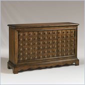 Henry Link Grand Apothecary Media Cabinet in Saddle Finish