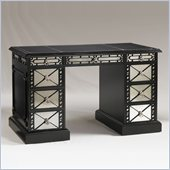 Henry Link Agean Isles Desk in Tuxedo Black Finish