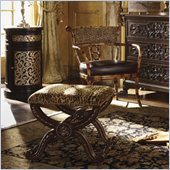 Henry Link Xavier Ottoman in Golden Umber Finish