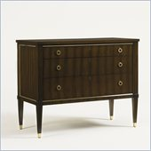 Aquarius Odyssey 3 Drawer Dressing Chest in a Walnut Finish