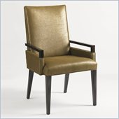 Aquarius Vision Arm Chair in Dark Walnut Finish