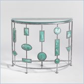 Aquarius Andromeda Console in Antique Silver Finish