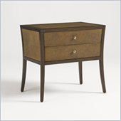 Aquarius Venus Chest in Golden Brown Shagreen