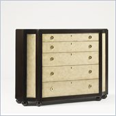 Aquarius Stellar Hall Chest in Dark Walnut