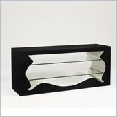 Aquarius Cosmos Media Console in Midnight Black Gloss Lacquer