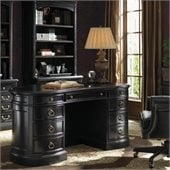 Sligh Breckenridge Telluride Kidney Desk in Weathered Black