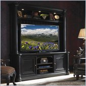 Sligh Breckenridge Entertainment Center in Weathered Black