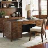 Sligh Longboat Key Bal Harbour 68 Pedestal Desk