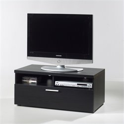 Tvilum Hayward 37 TV Stand in Black Woodgrain