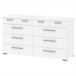 Tvilum Aria 10 Drawer Chest in White