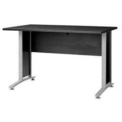 Tvilum Pierce 4 Foot Desk Top in Black Wood Grain