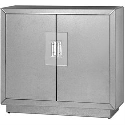 Uttermost Andover Mirrored Accent Chest in Silver