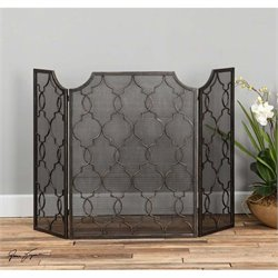 Uttermost Charlie Fireplace Screen