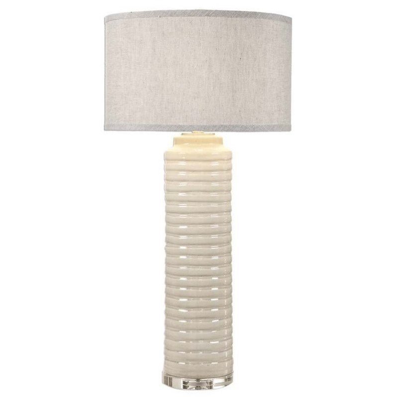 Uttermost Yana Ribbed Cylinder Lamp 27054-1