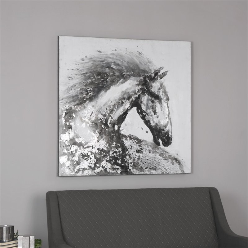 Uttermost Proud Friend Horse Art 35328