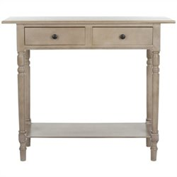 Safavieh Gary Wood Console in Grey